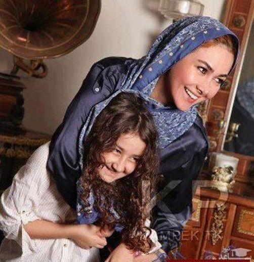آنا نعمتی و دخترش