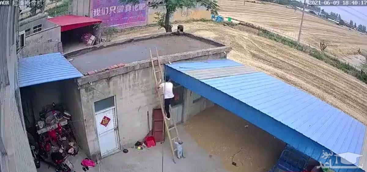 (فیلم) وقتی پدر و پسر رو تنها بذارن!