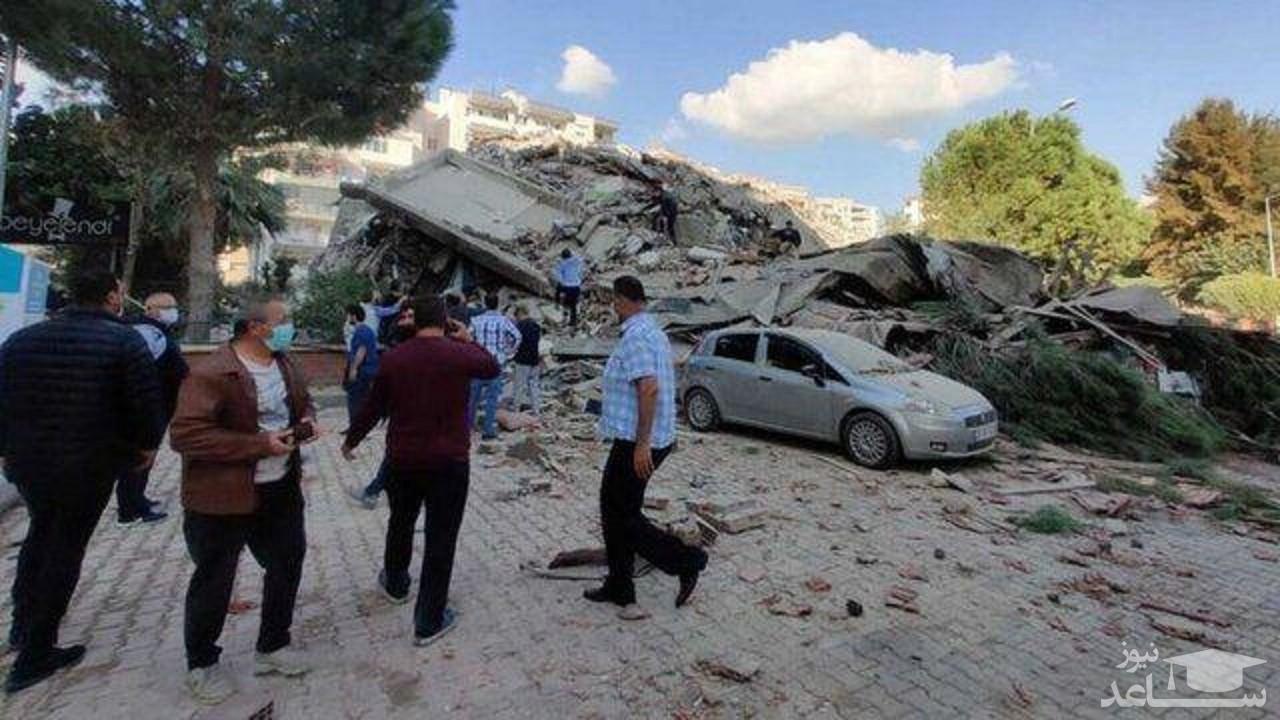 تصویری از زلزله ترکیه که در فضای مجازی ترند شد