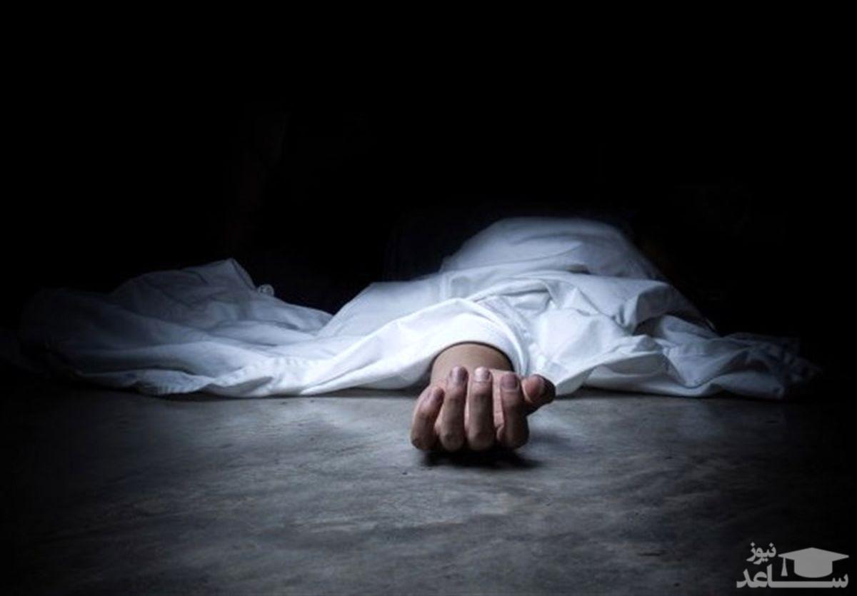 عکس 16+ / عکس جسد یک مرد رها شده وسط خیابان ! / در جنوب تهران رخ داد