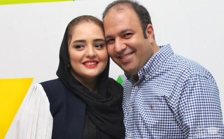 شیطنت های حیوان خانگی نرگس محمدی