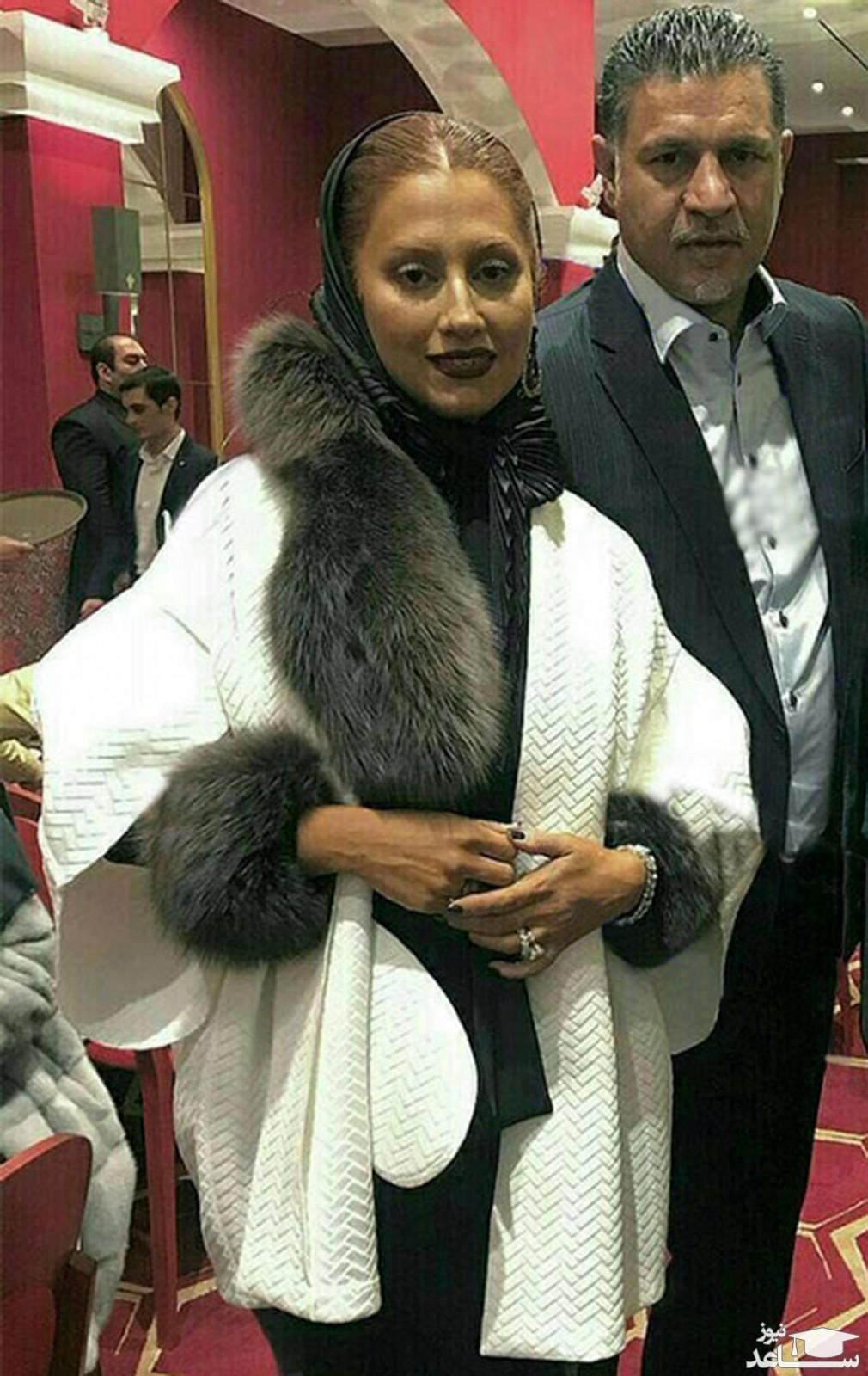 هدیه الماس نشان همسر علی دایی به شوهرش