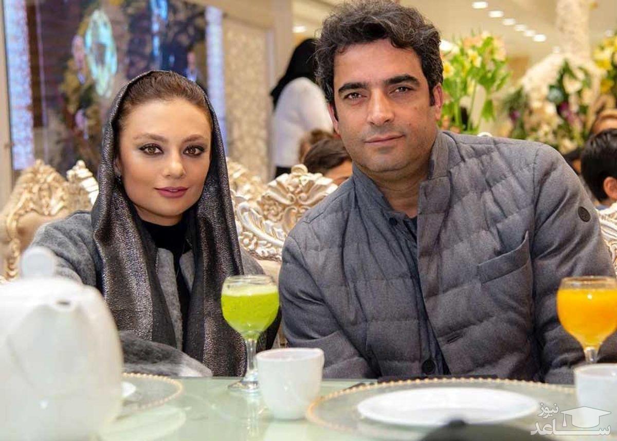 منوچهر هادی و یکتا ناصر در خانه بازیگر دل