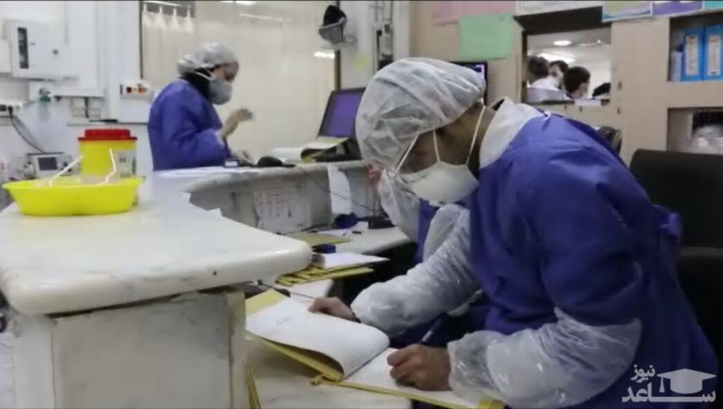 ۱۰۴ بیمار مشکوک به کرونا بستری در بیمارستان مسیح دانشوری