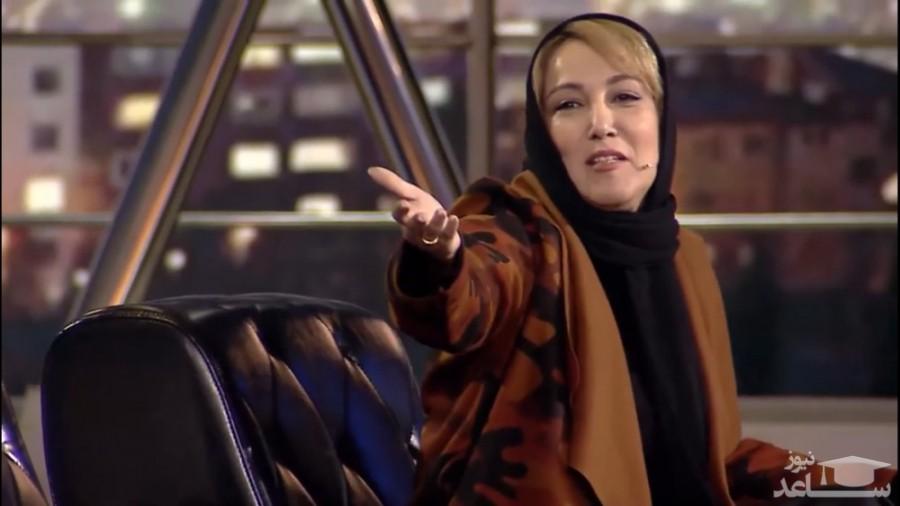 خواهر پانتهآ بهرام در برنامه شهاب، حاشیهساز شد