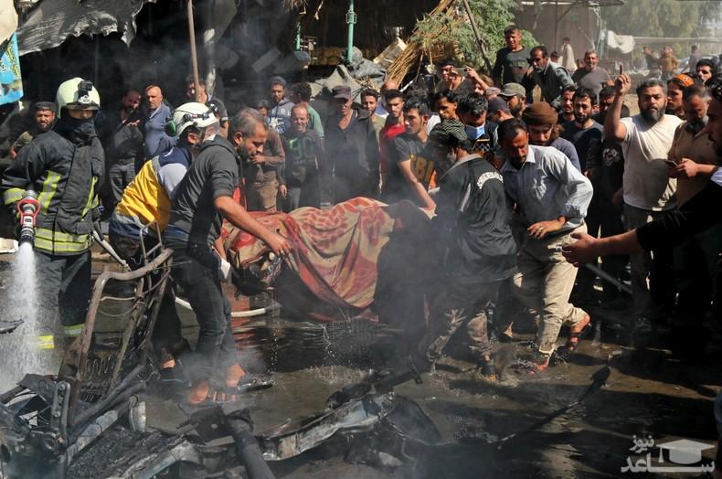 """بمبگذاری در شهر """"عفرین"""" در شمال سوریه/ خبرگزاری فرانسه"""