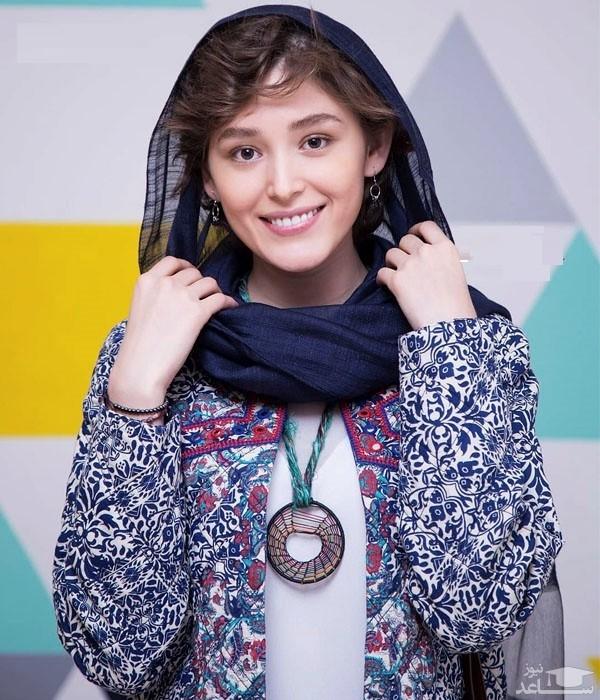 تیپ جنجالی فرشته حسینی در جشنواره فیلم فجر