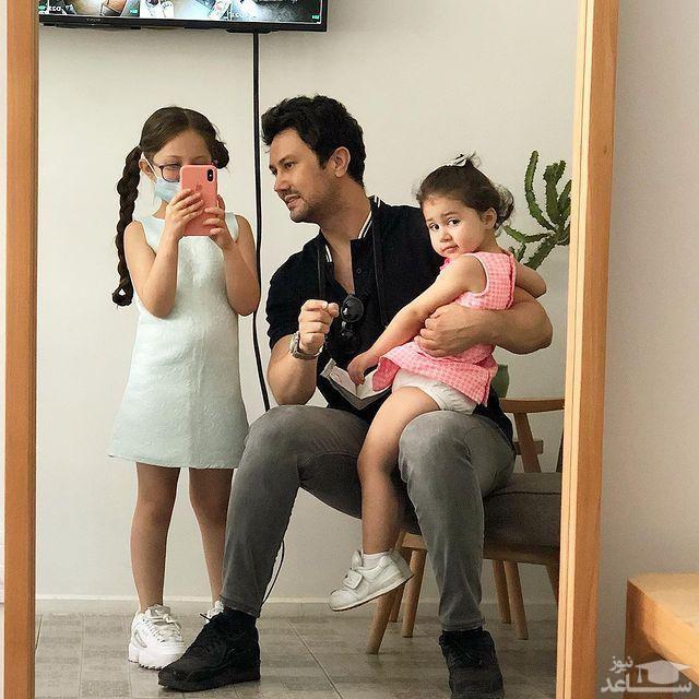 شارخ استخری و دخترانش
