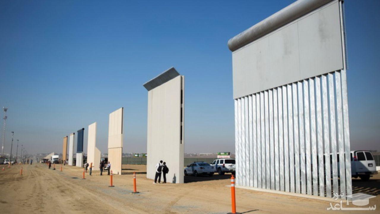 بایدن ادامه ساخت دیوار در مرز مکزیک را متوقف میکند