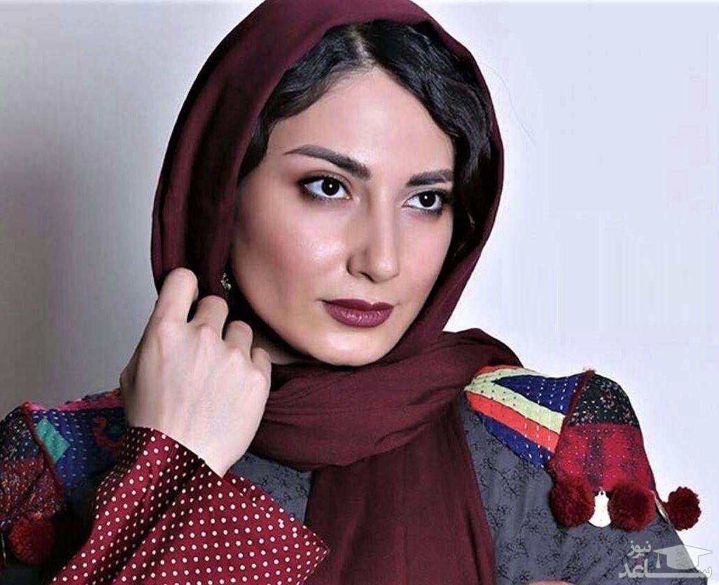 عاشقانه سمیرا حسن پور و همسرش در طبیعت پاییزی