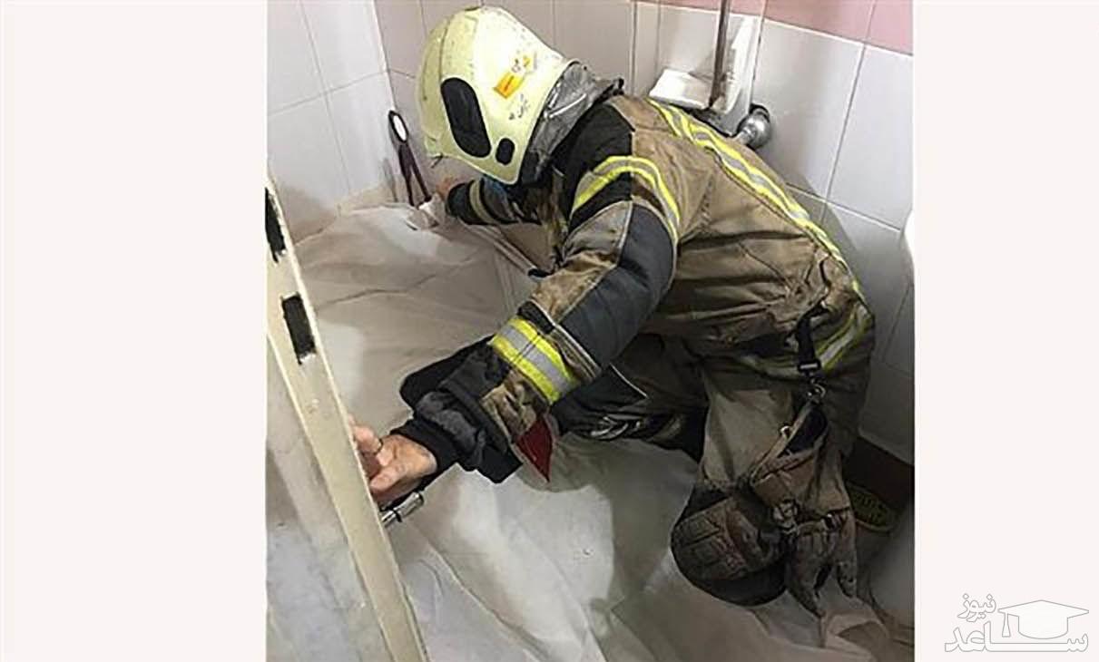 مرگ تلخ مرد تهرانی در حمام مغازه اش
