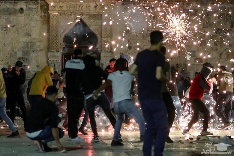 معترضان فلسطینی