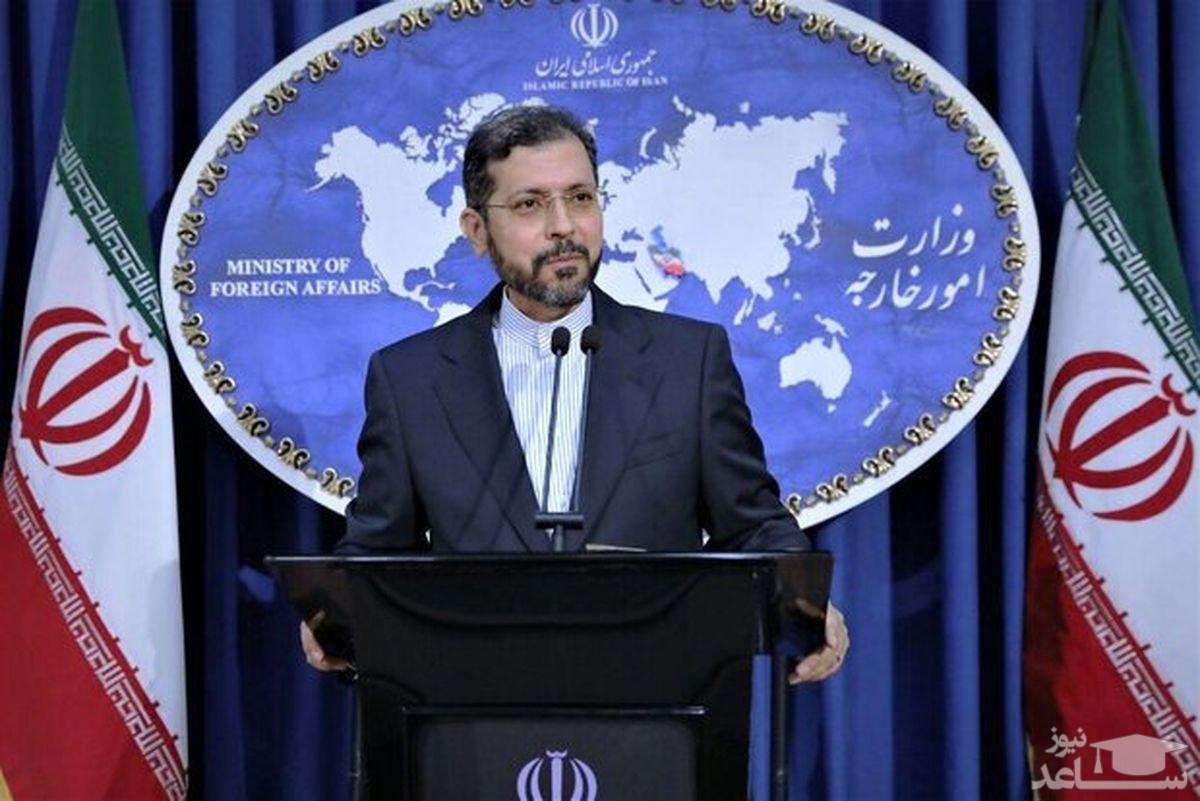واکنش خطیبزاده به اخبار منتشر شده درخصوص حکم ۲۰ سال حبس برای دیپلمات ایرانی