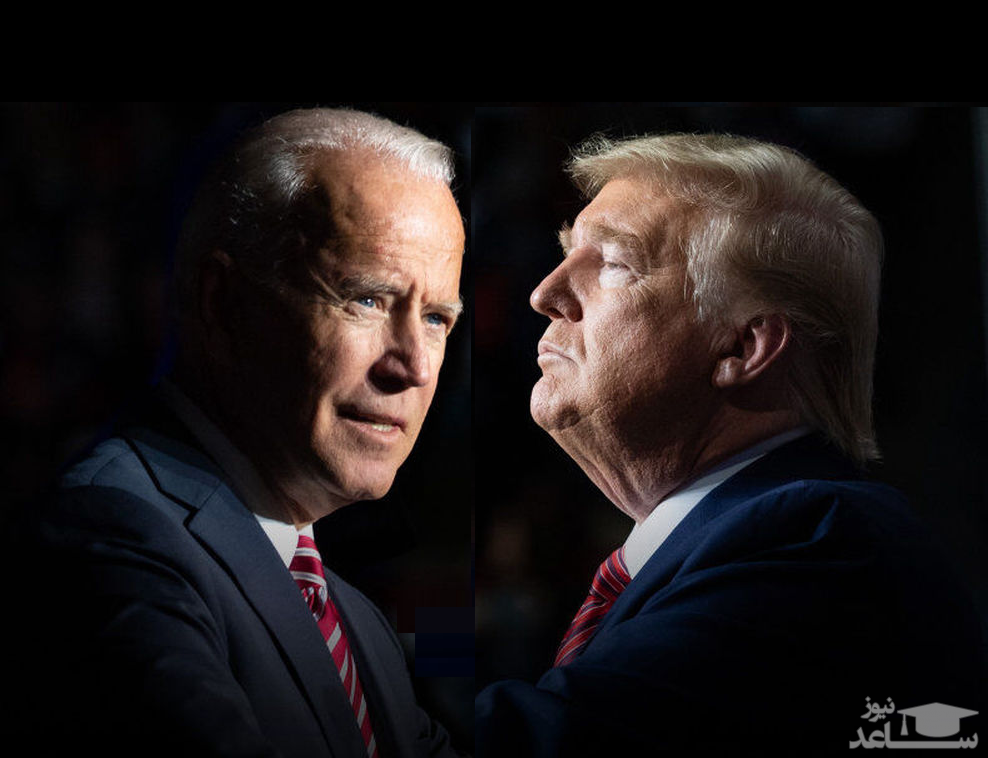 اینفوگرافی| آخرین نظرسنجیها از انتخابات آمریکا - ۲۸ اکتبر