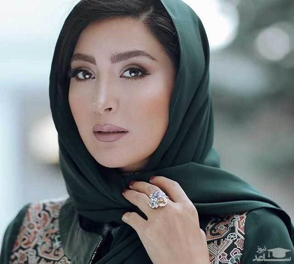 تیپ جنجالی مریم معصومی برای تبلیغ یک بوتیک لباس