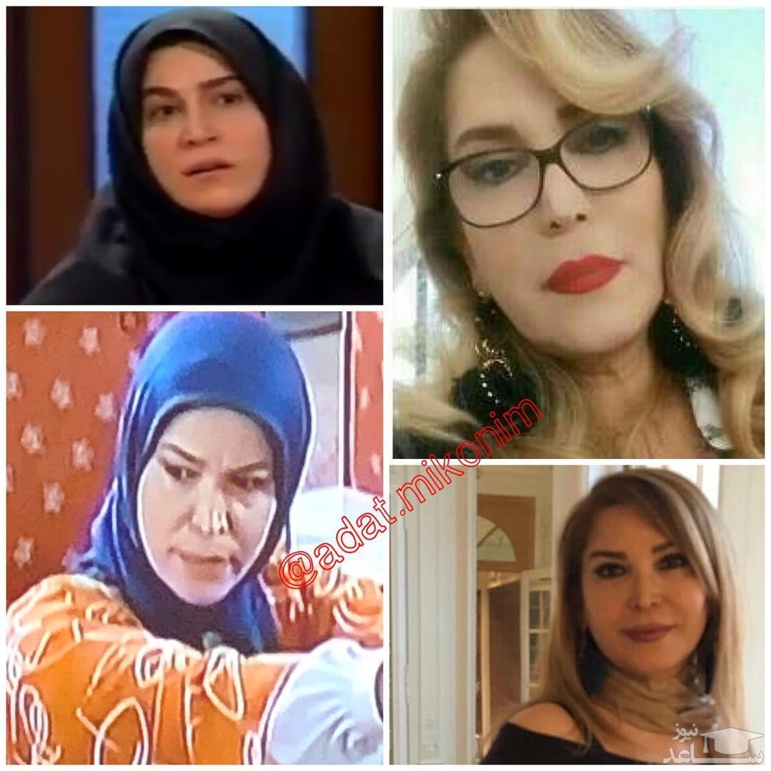 عکس هایی از کشف حجاب سهیلا عزیزی بازیگر 49 ساله کشورمان