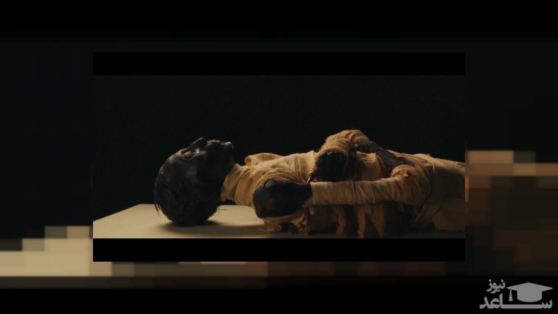 بازسازی جالب چهره فرعون مصر از روی جسد مومیایی