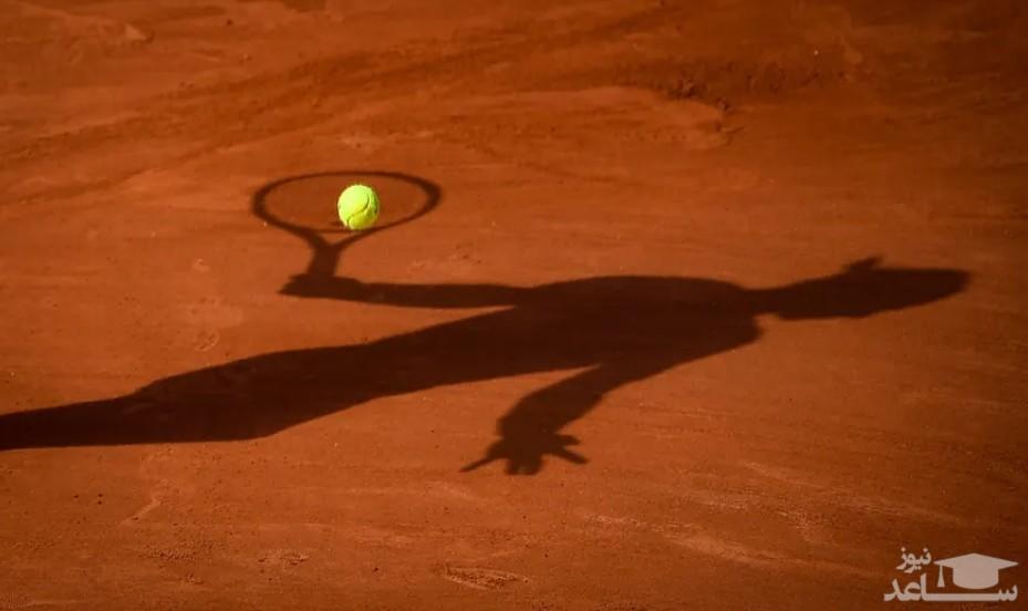 """سایه """"رافائل نادال"""" تنیسور اسپانیایی"""