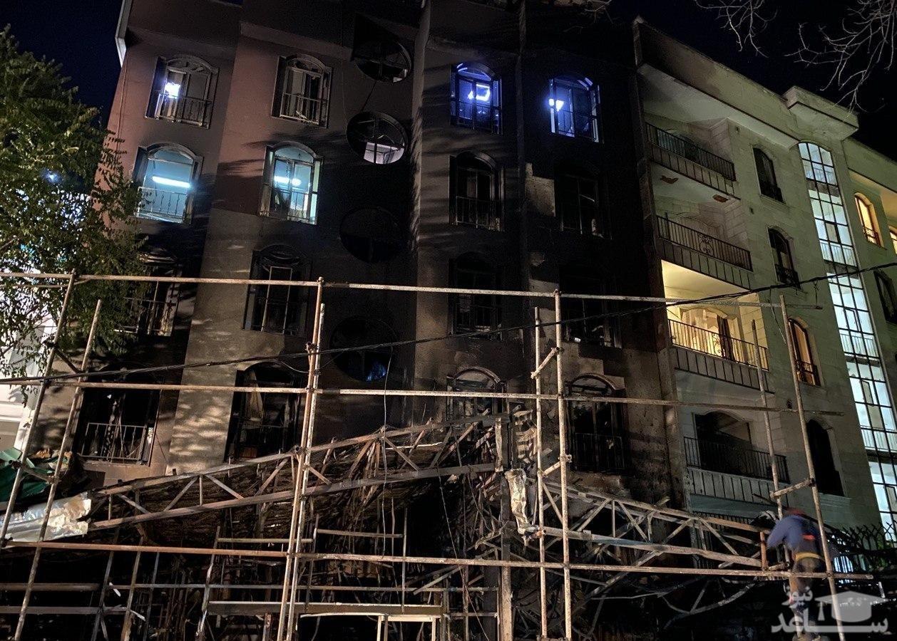 بازداشت ۹ زن و مرد در ارتباط با انفجار کلینیک سینا اطهر