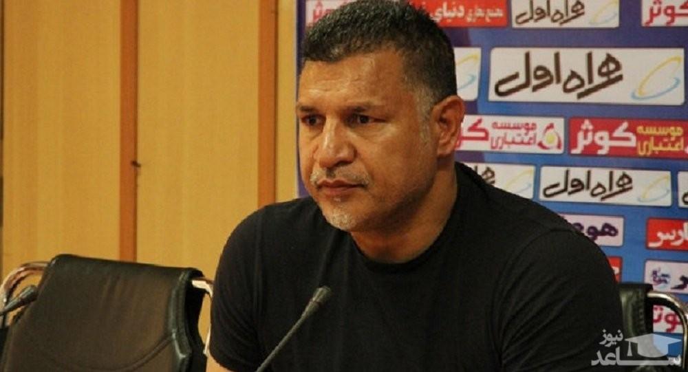 علی دایی مورد دستبرد قرار گرفت
