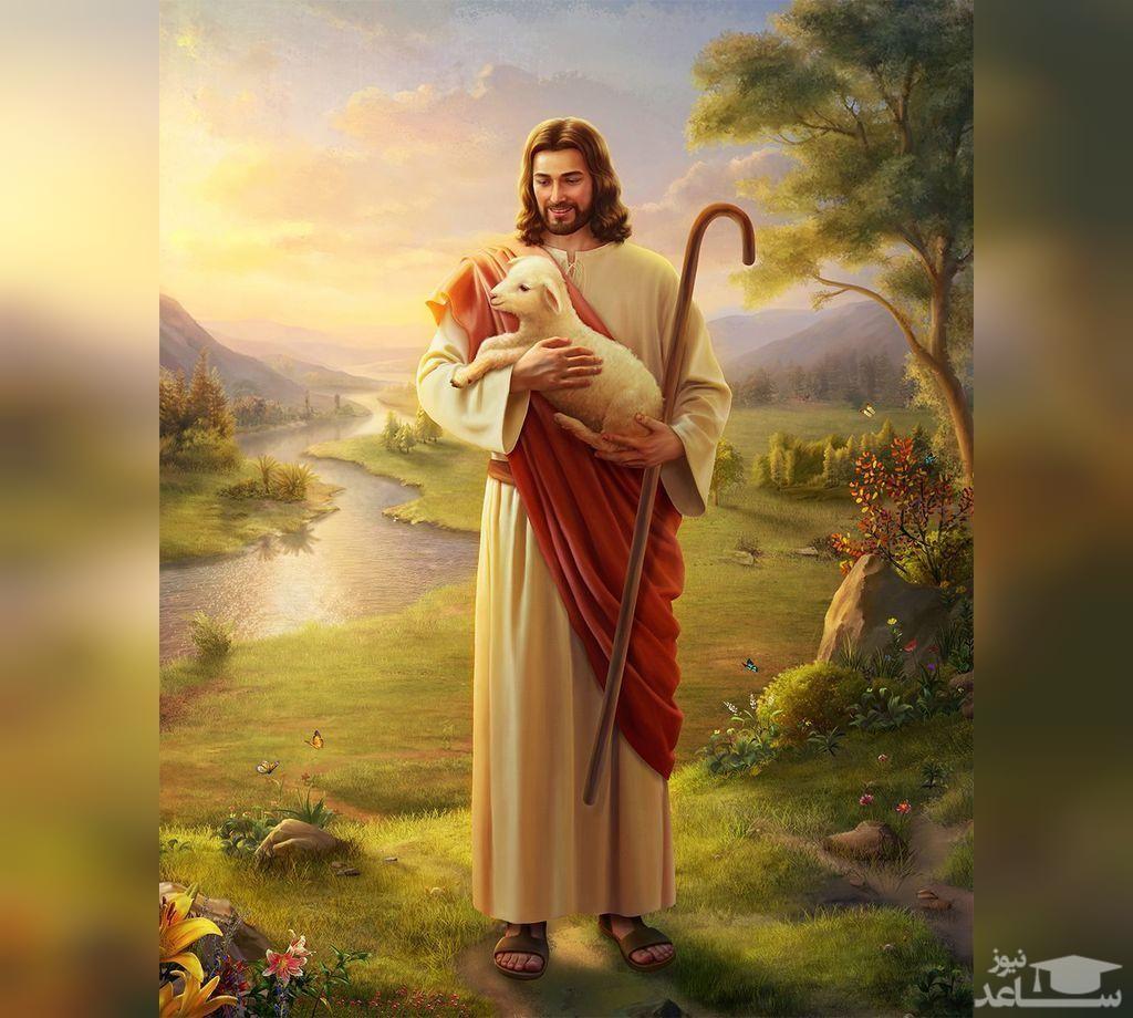 تصویری پر سر و صدا از عیسی مسیح