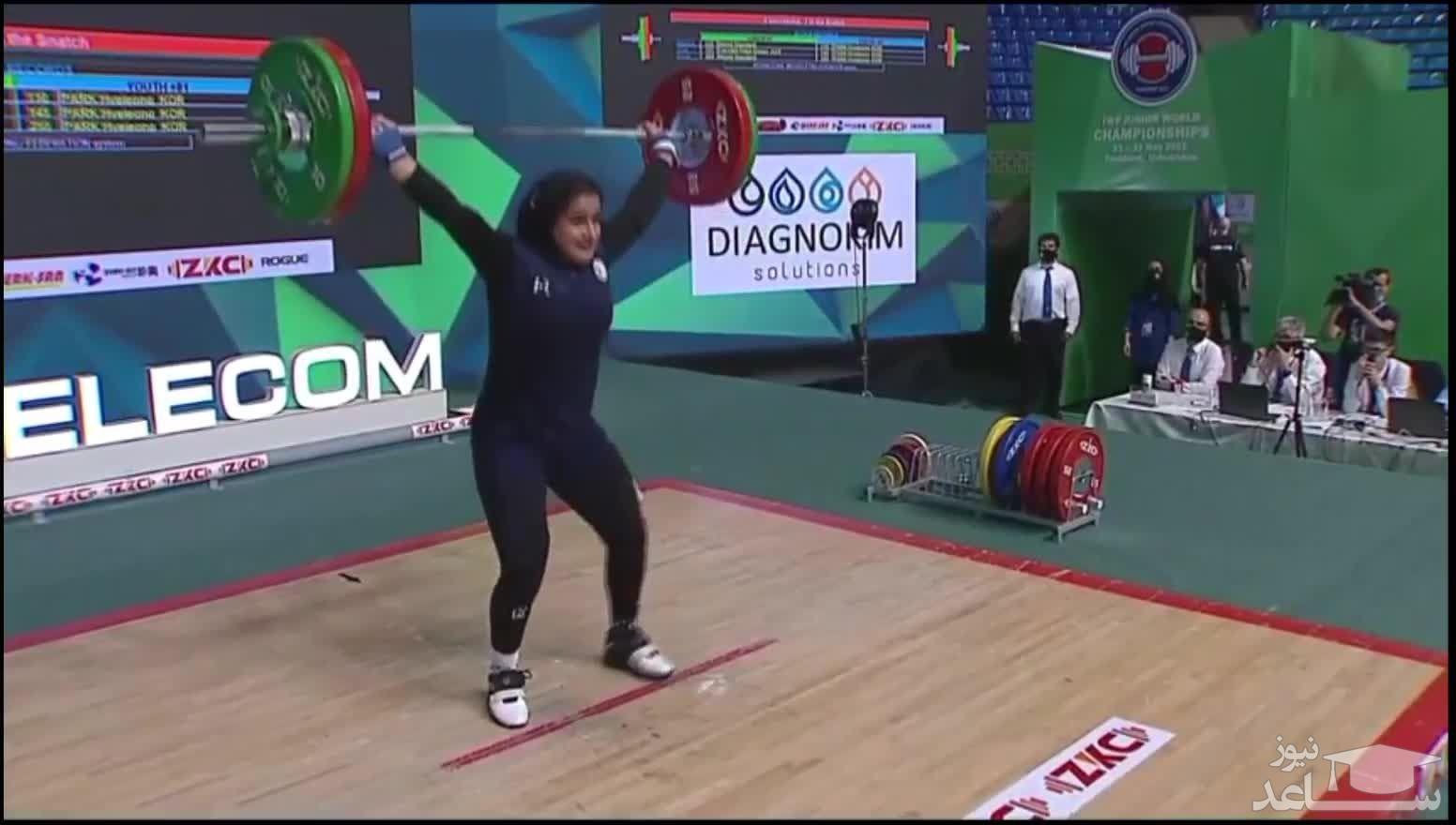 روایت دختر تاریخ ساز ایران از کسب اولین مدال جهانی در وزنه برداری