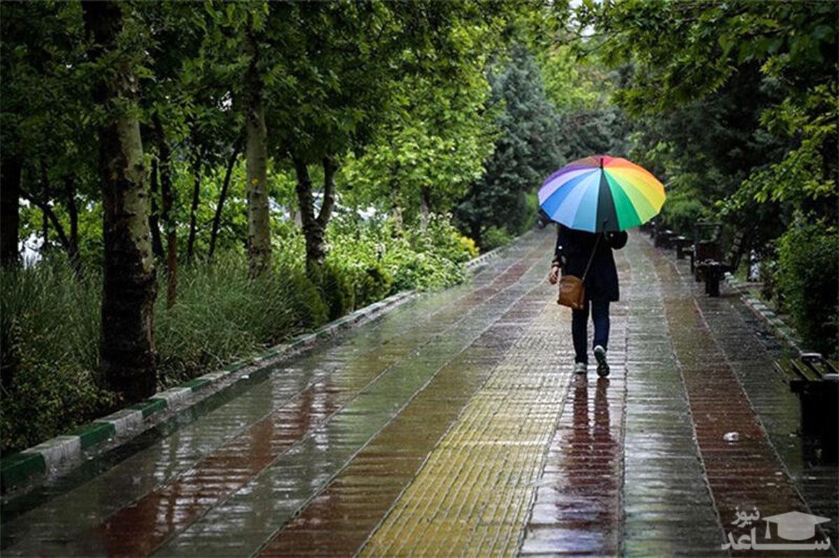 هشدار هواشناسی؛ بارش شدید باران در ۱۵ استان