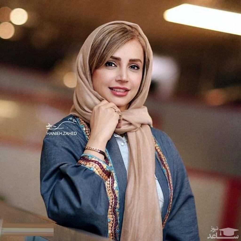 آرامش و معصومیت شبنم قلی خانی در یک نگاه