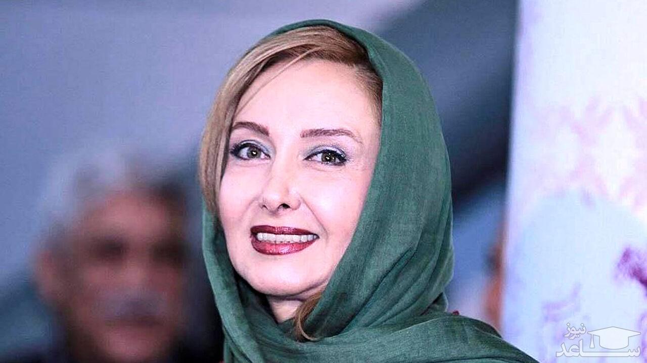 اولین عکس منتشر شده از چهره بدون آرایش زلیخای سینمای ایران