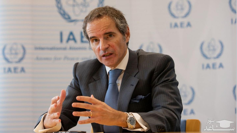 مدیرکل آژانس: مجبوریم برای کار با تیم جدید ایران صبر کنیم