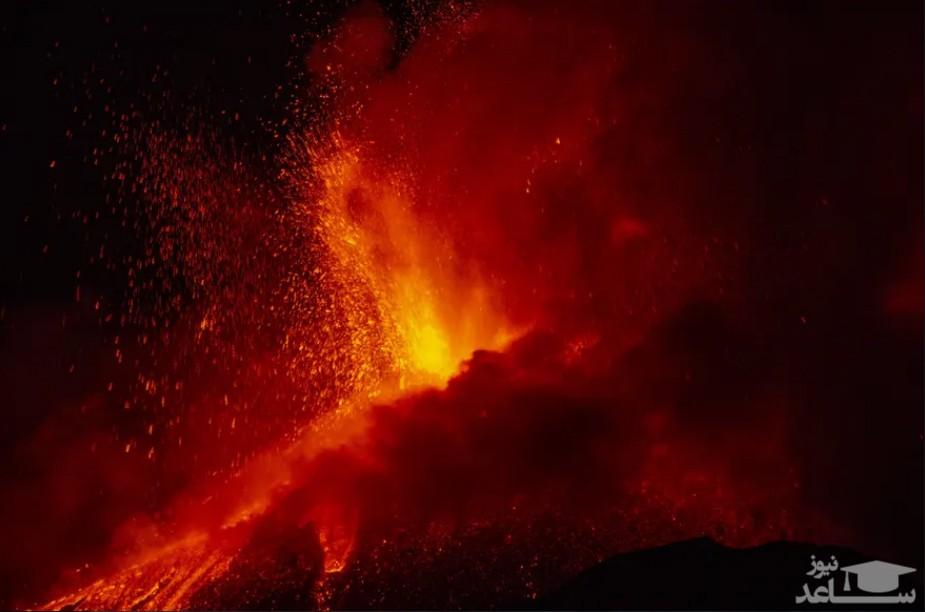 فعالیت آتشفشان