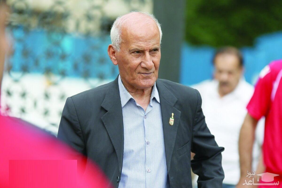 حمید جاسمیان پیشکسوت ارزنده پرسپولیس در بیمارستان بستری شد