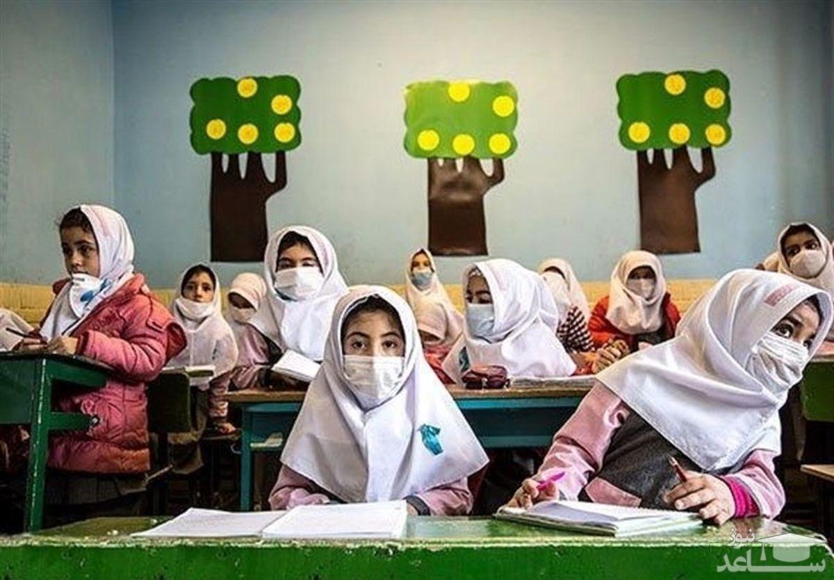 (عکس) تعداد مدارس و تراکم جمعیتی کلاسهای درس در کشور