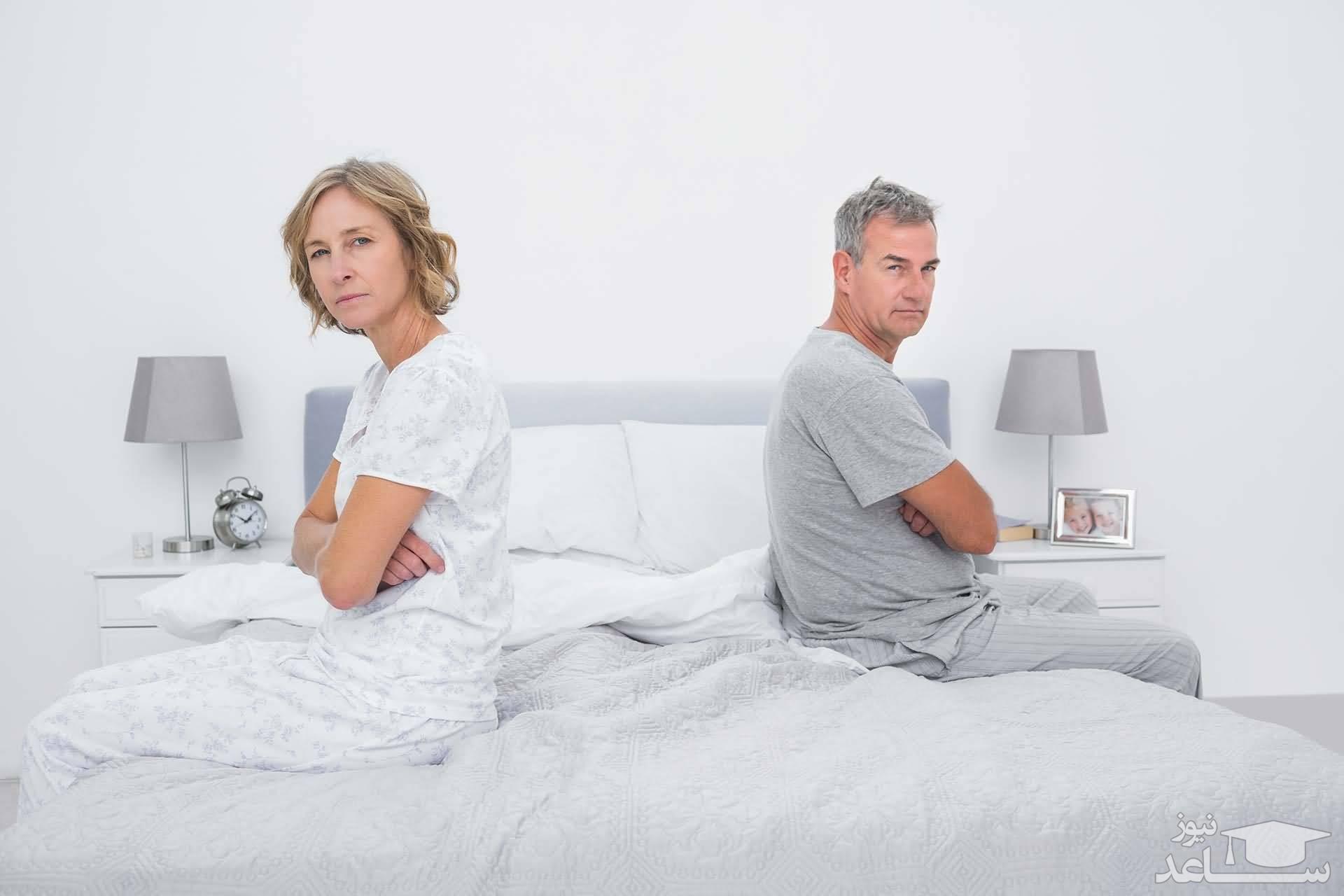 میل جنسی زنان چه زمانی کم میشود؟