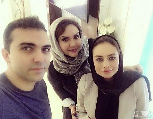 یکتا ناصر و دوستانش