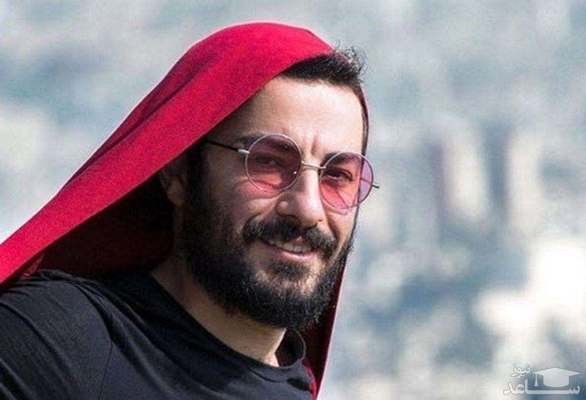 نوید محمدزاده با سر و وضع خونی