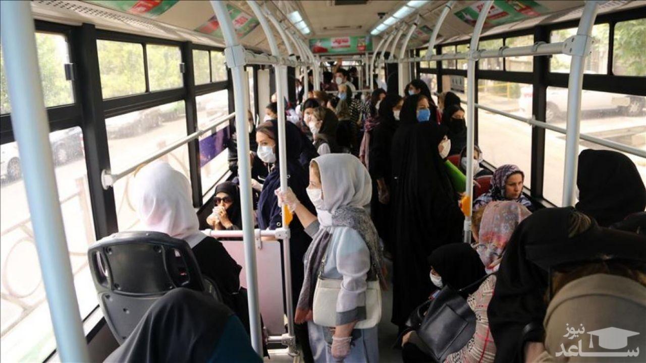 بیشترین شیوع کرونا در چهار منطقه تهران