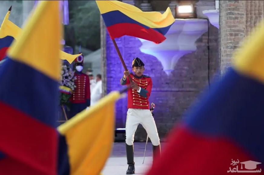 مراسم دویستمین سالگرد تدوین قانون اساسی کشور کلمبیا/ رویترز