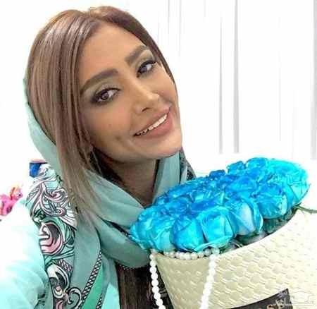 ست کردن لباس الهام عرب و دخترش!