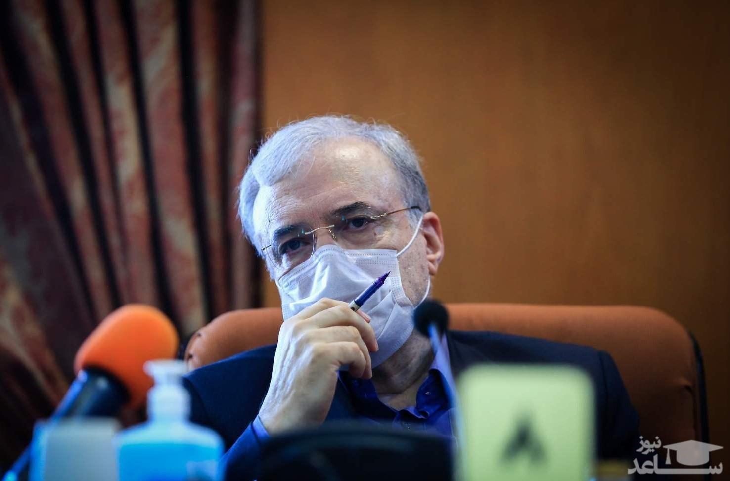 وزیر بهداشت: مردم خودشان را برای طوفان کرونا آماده کنند