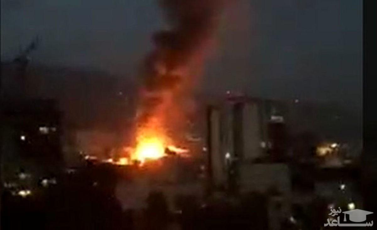 فیلم جدید از لحظه انفجار در خیابان شریعتی