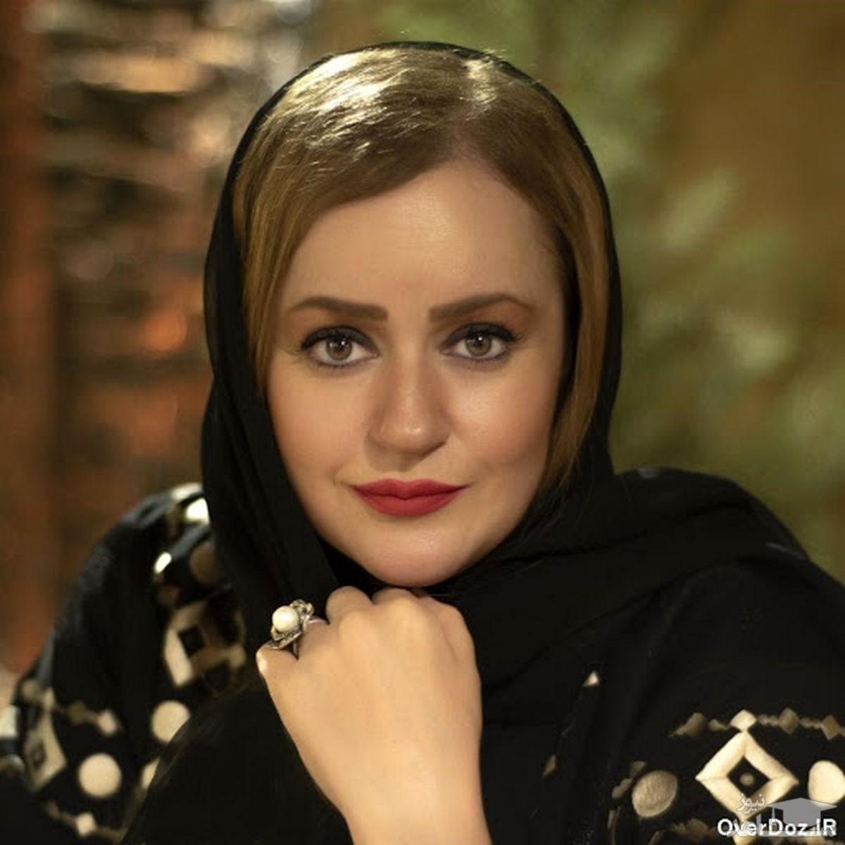 عکس آتلیه ای نعیمه نظام دوست با میکاپ زیبا