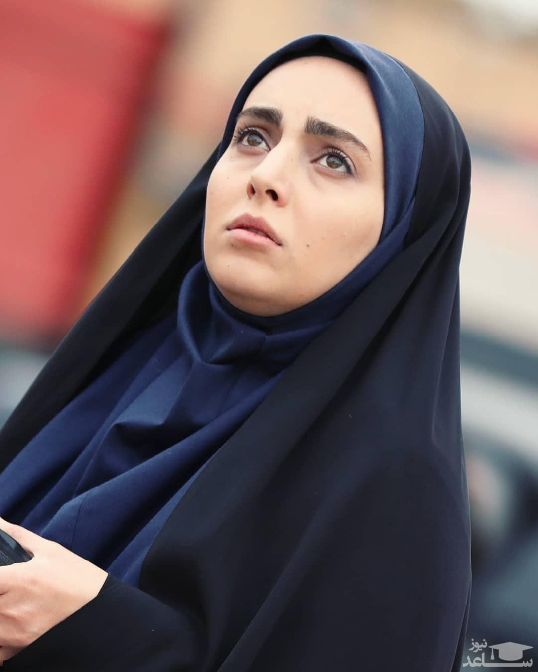 مهشید جوادی بازیگر جذاب بچه مهندس بدون چادر