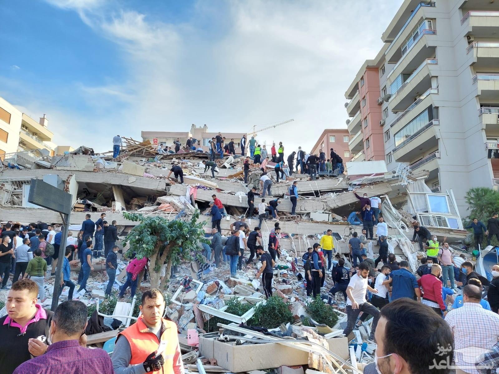 ۶ کشته و ۲۲۰ زخمی نخستین آمار زلزله ترکیه