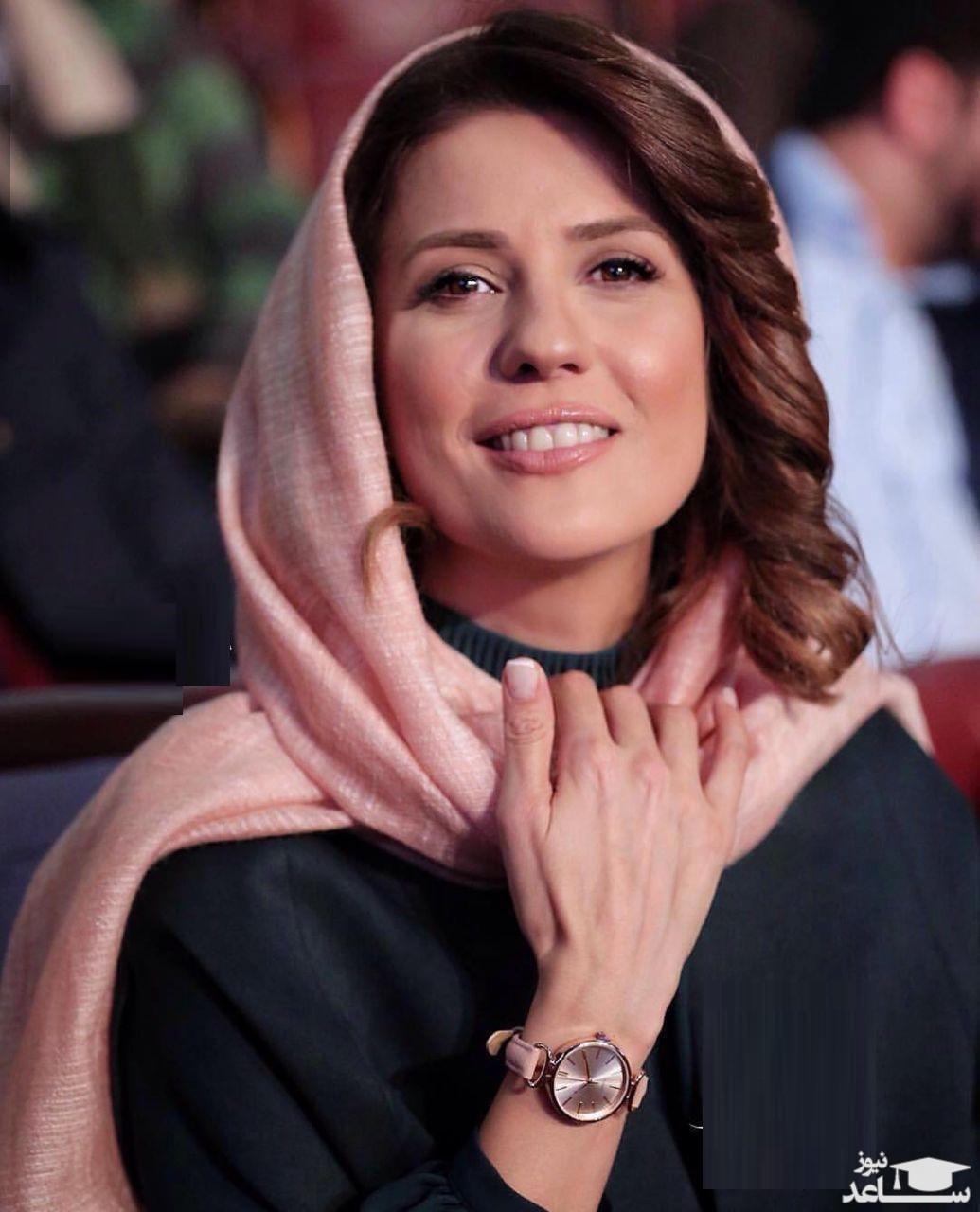 آرزوی سلامتی سارا بهرامی برای رضا کیانیان