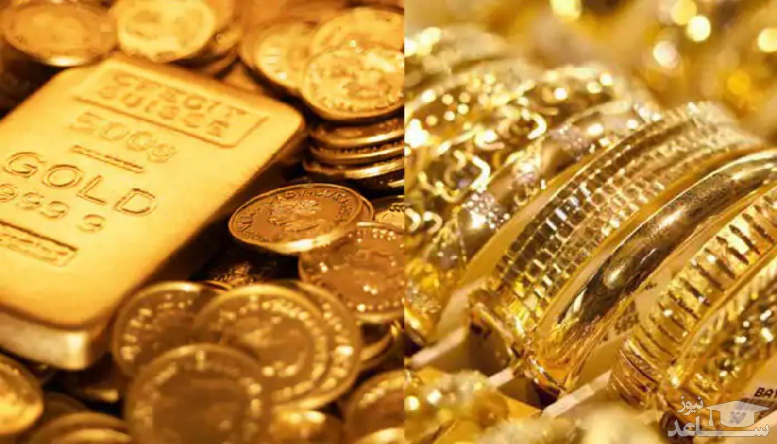 قیمت سکه و طلا و ارز در بازار امروز، 6 مرداد 1400