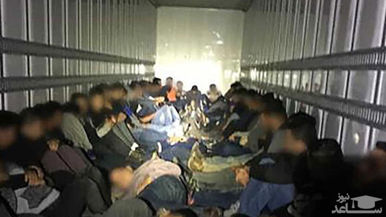(فیلم) شیوه عجیب قاچاق انسان از مکزیک به آمریکا