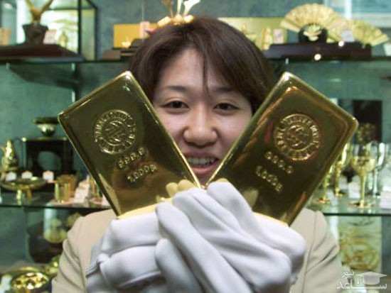 کشورهایی که بیشترین ذخایر طلا را در اختیار دارند