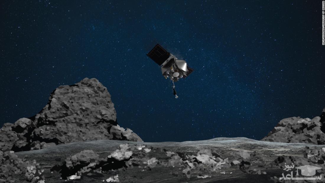 فیلمی جذاب و حیرت انگیز از  کاوشگر ناسا در فضا