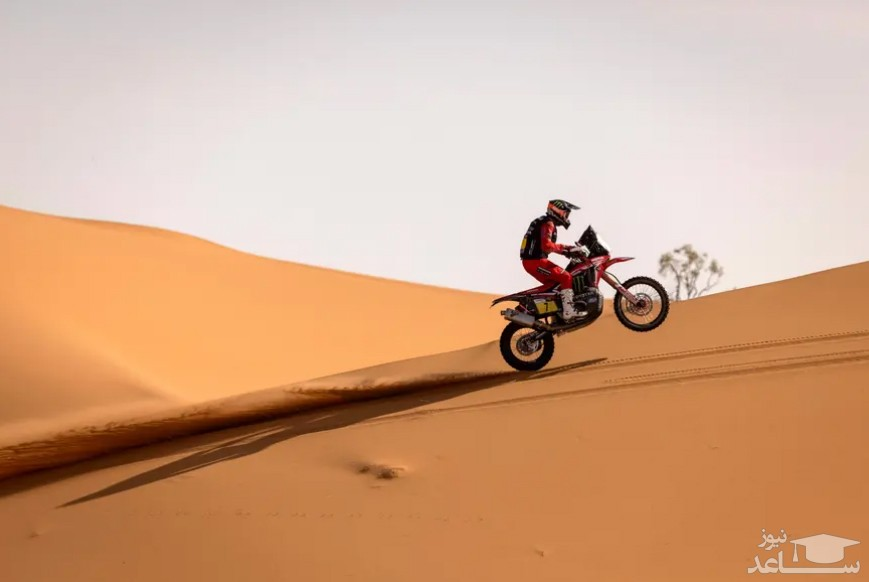"""مسابقات بین المللی موتورسواری """"رالی مراکش 2021"""" / خبرگزاری فرانسه"""